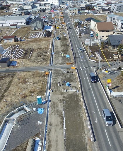 道路工事写真3