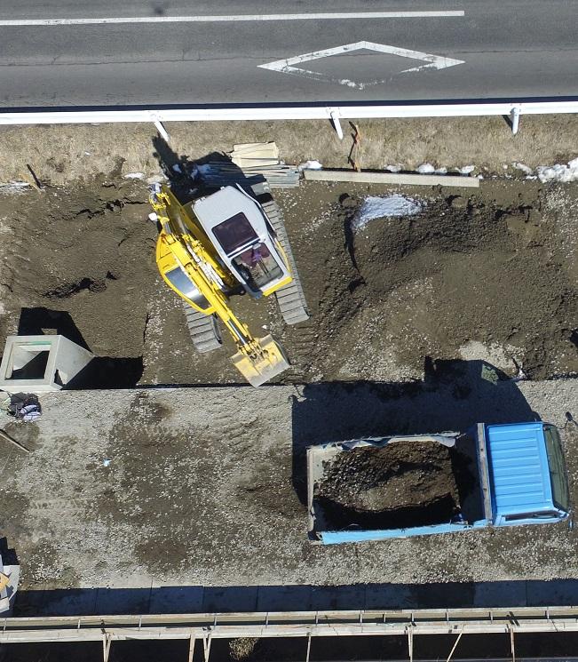 道路工事写真2