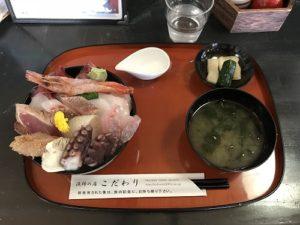 2018.7 能登 お昼ご飯2