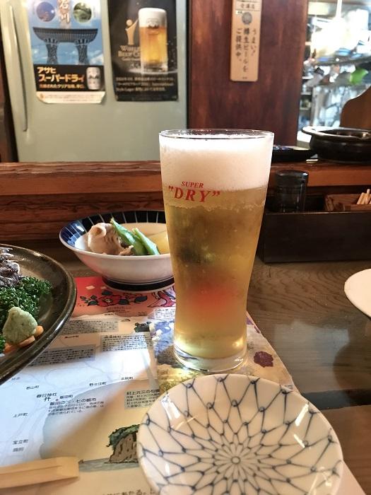 2018.7 能登 生ビール