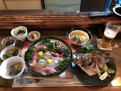 2018.7 能登 夕食