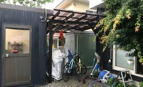 バイクの屋根