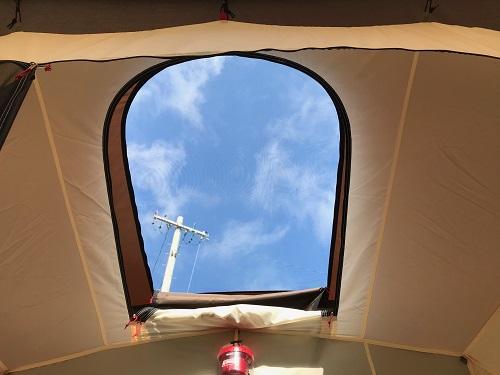 コクーン寝室天窓